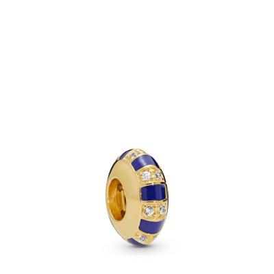 Pandora Exotic Stones & Stripes Spacer, Pandora Shine™