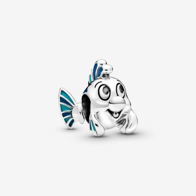 Pandora Disney The Little Mermaid Flounder Charm