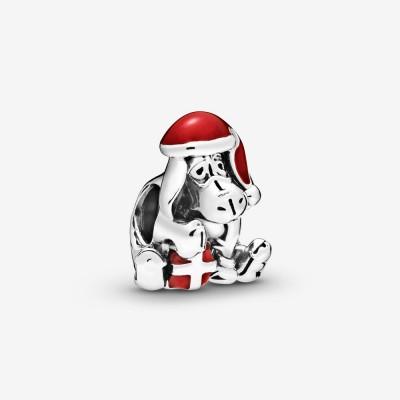 Pandora Disney Eeyore Christmas Charm