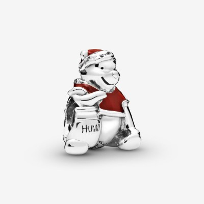 Pandora Disney Winnie the Pooh Hunny Pot Christmas Charm