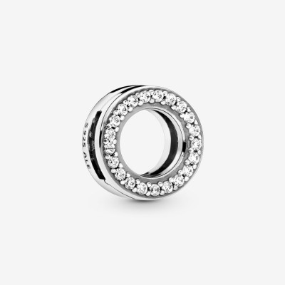 Pandora Circle of Pavé Clip Charm