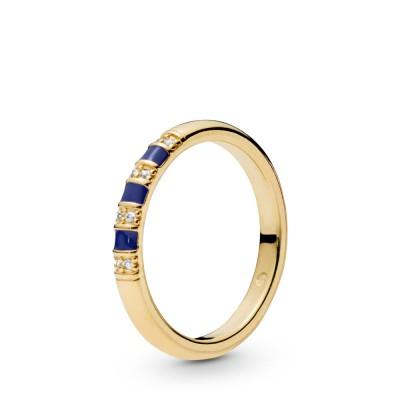Pandora Exotic Stones & Stripes Ring, Pandora Shine™