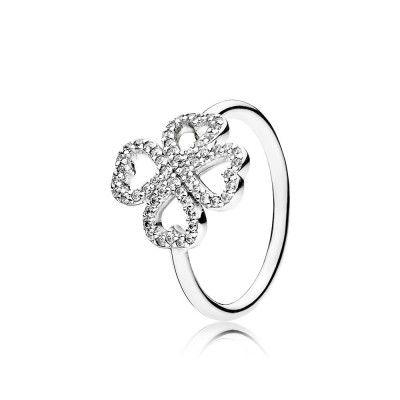 Pandora Petals of Love, Clear CZ