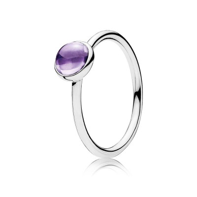 Pandora Poetic Droplet, Purple CZ