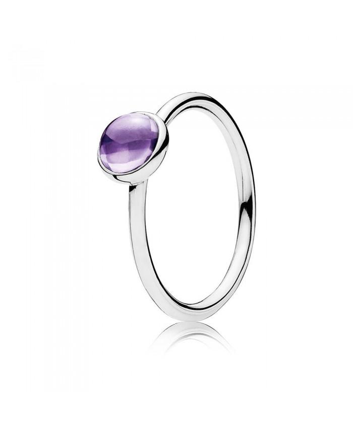 Pandora Poetic Droplet, Purple CZ