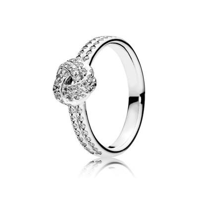 Pandora Sparkling Love Knot, Clear CZ