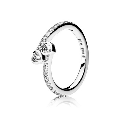 Pandora Forever Hearts, Clear CZ