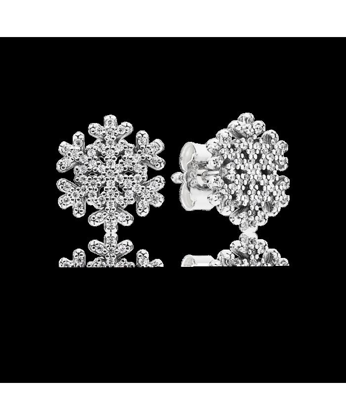 Pandora Snowflake, Clear CZ