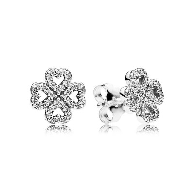 Pandora Petals of Love, Clear CZ