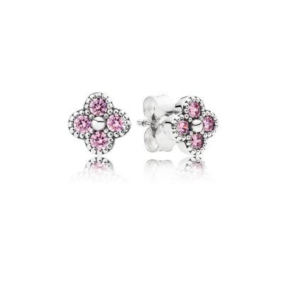 Pandora Oriental Blossom, Pink CZ