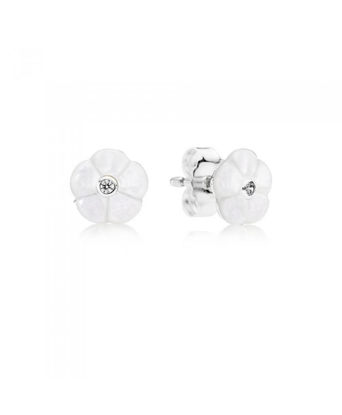 Pandora Luminous Florals, Mother-Of-Pearl & Clear CZ