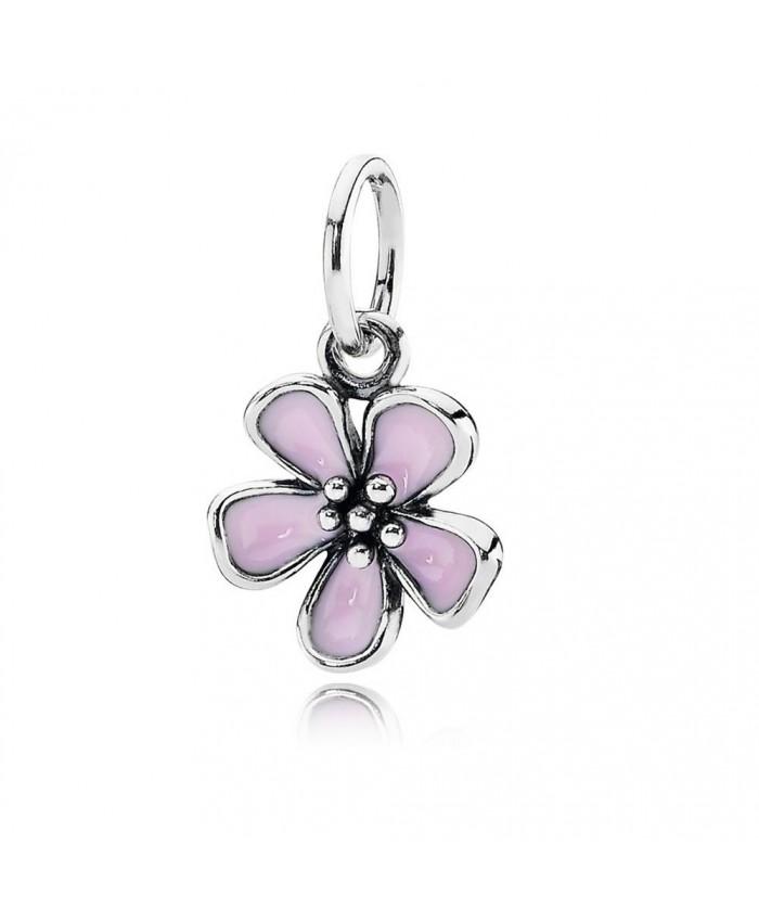Pandora Cherry Blossom Pendant, Pink Enamel