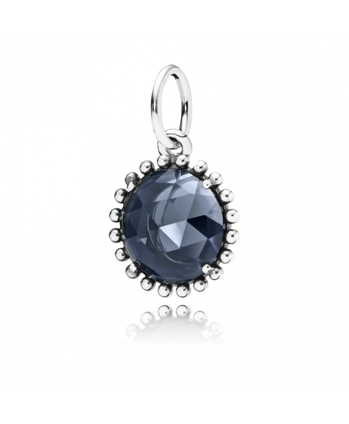 Pandora Midnight Star Pendant, Midnight Blue Crystal