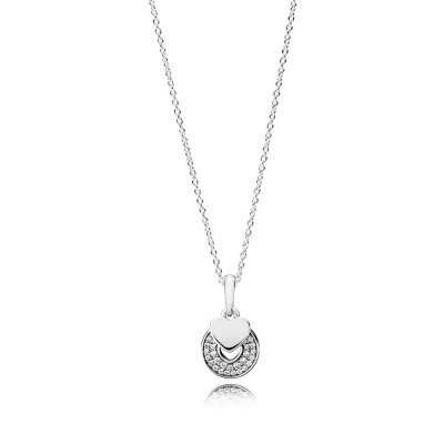 Pandora Celebration Hearts, Clear CZ