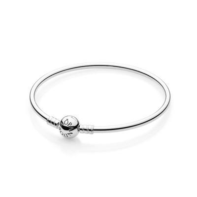Pandora Silver Charm Bangle Bracelet