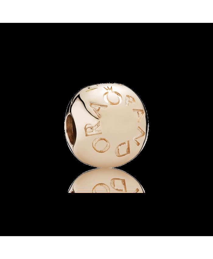 Pandora Loving PANDORA Logo Charm Clip, PANDORA Rose™