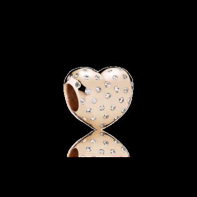 Pandora Sparkle Of Love, PANDORA Rose™ & Clear CZ