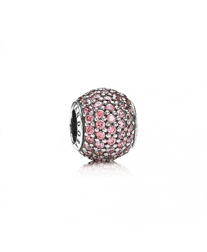 Pandora Pavé Lights, Fancy Pink CZ