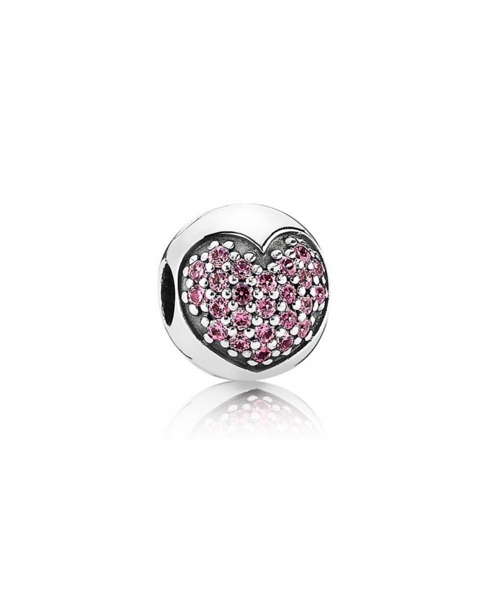 Pandora Love Of My Life Clip, Fancy Pink CZ