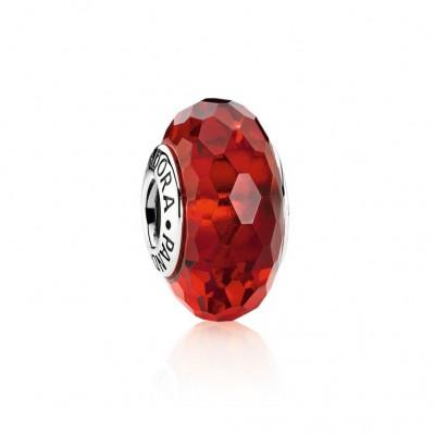 Pandora Fascinating Red, Murano Glass