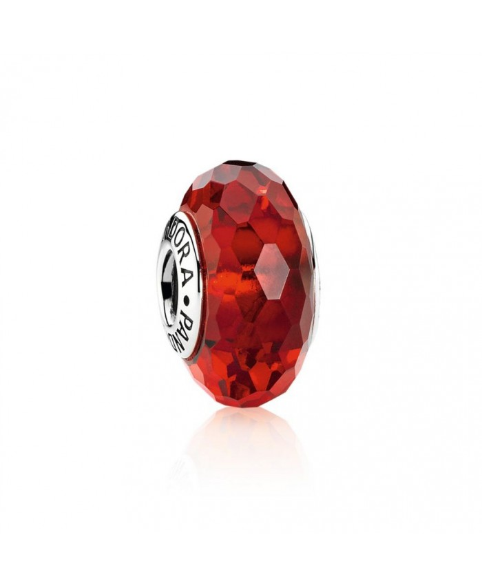 Pandora Fascinating Red, Murano Glass
