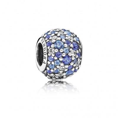Pandora Sky Mosaic Pavé, Mixed Blue Crystals & Clear CZ