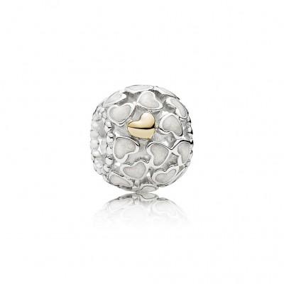 Pandora Abundance of Love Charm, Silver Enamel