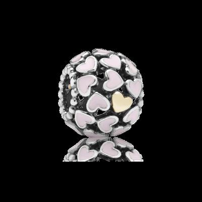 Pandora Abundance Of Love, Pink Enamel