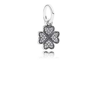 Pandora Symbol Of Lucky In Love, Clear CZ