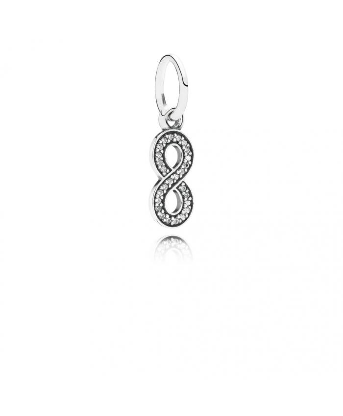 Pandora Symbol Of Infinity, Clear CZ