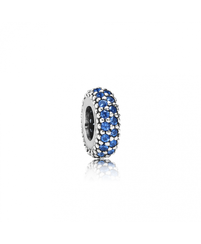 Pandora Inspiration Within Spacer, Blue Crystal