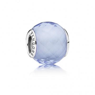 Pandora Petite Facets, Synthetic Blue Quartz
