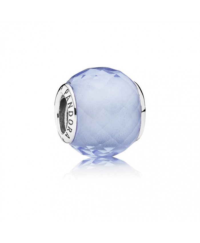 Pandora Petite Facets, Synthetic Blue Quartz