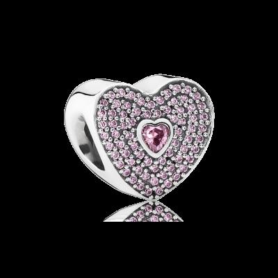 Pandora Sweetheart, Fancy Pink CZ