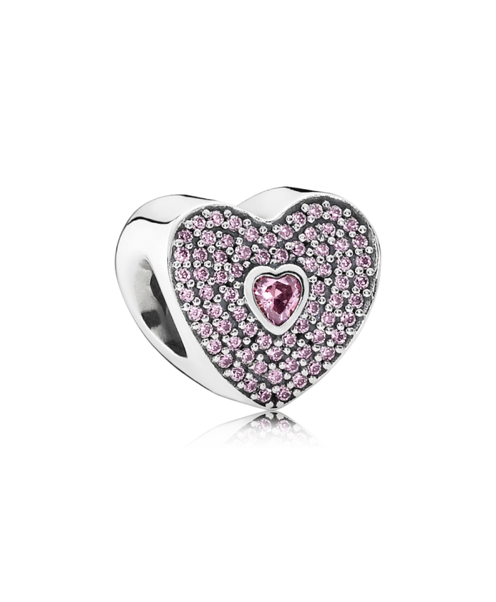 Pandora Sweetheart, Fancy Pink CZ