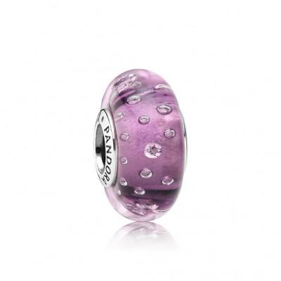 Pandora Purple Effervescence, Clear CZ