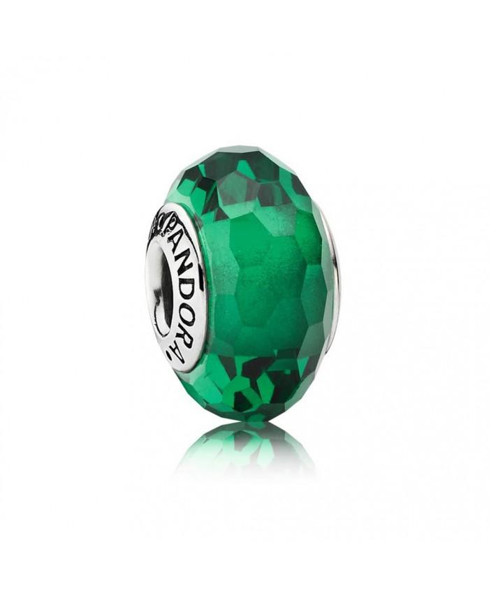 Pandora Fascinating Green, Murano Glass
