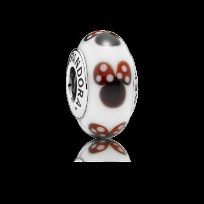 Pandora Classic Disney Minnie Murano Glass