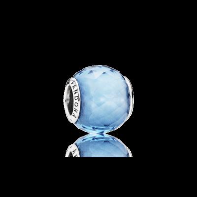 Pandora Geometric Facets, Sky-Blue Crystal