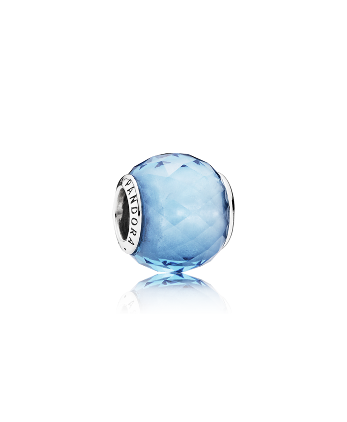Pandora Geometric Facets, Sky-Blue Crystal