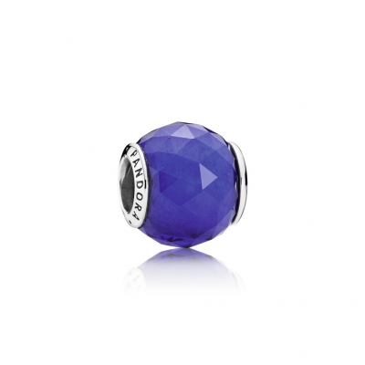 Pandora Geometric Facets, Royal Blue Crystal