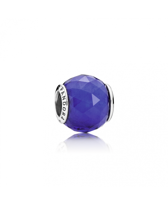 Pandora Geometric Facets, Royal Blue Crystal