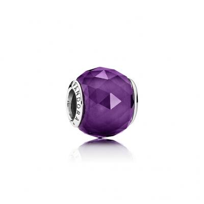 Pandora Geometric Facets, Royal-Purple Crystal
