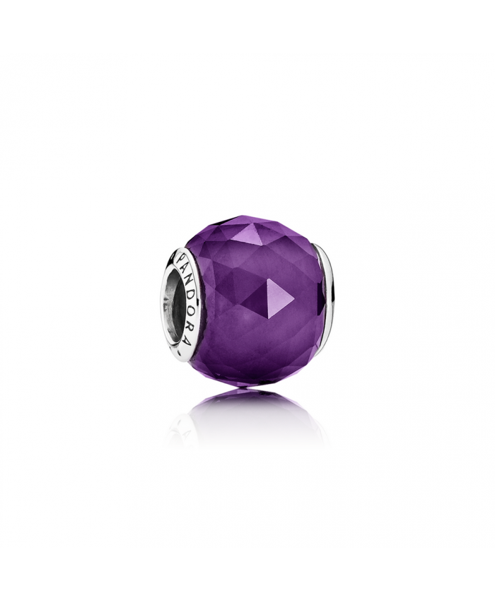 Pandora Geometric Facets, Royal-Purple Crystal