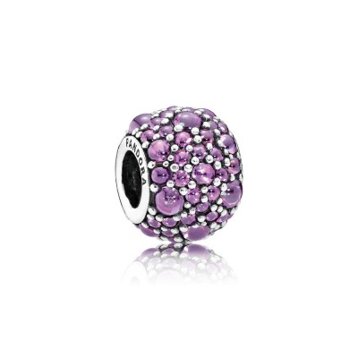 Pandora Shimmering Droplets, Fancy Purple CZ