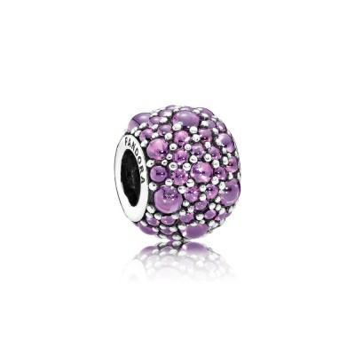 Pandora Shimmering Droplets, Fancy Purple CZ