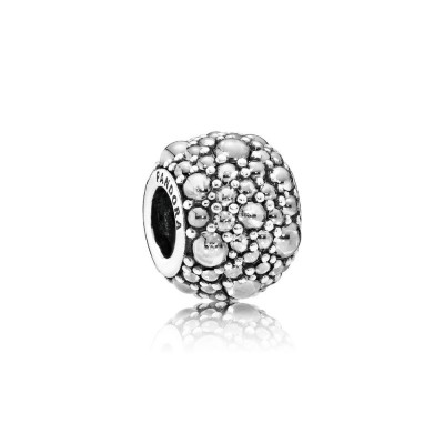 Pandora Shimmering Droplets, Clear CZ