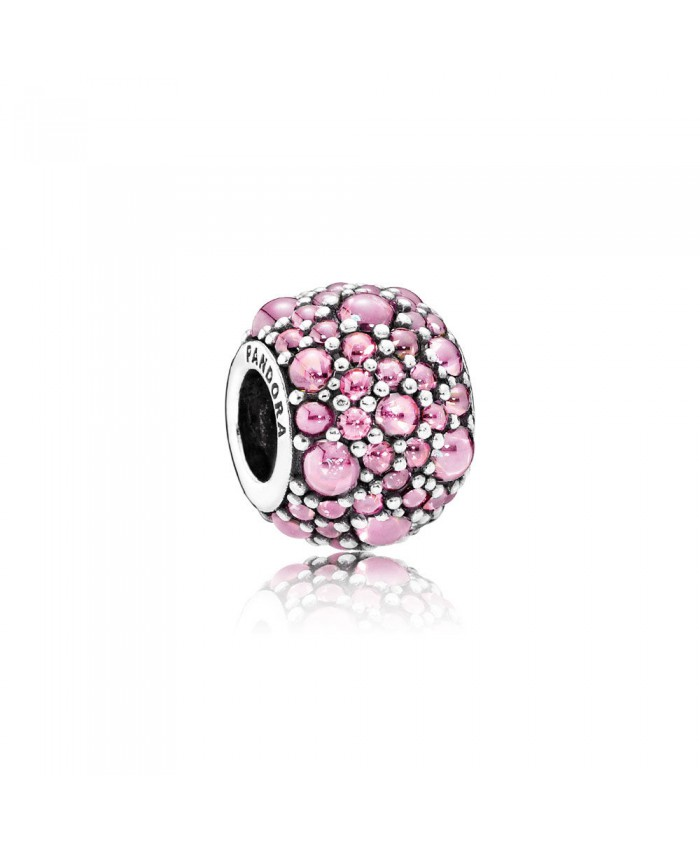 Pandora Shimmering Droplets, Pink CZ