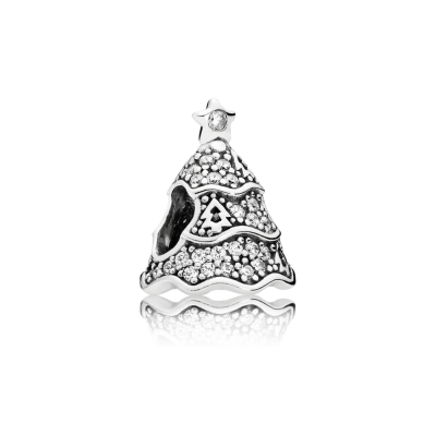 Pandora Twinkling Christmas Tree, Clear CZ