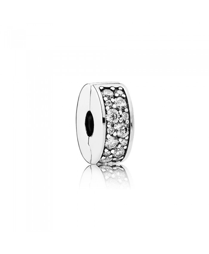 Pandora Shining Elegance Clip, Clear CZ